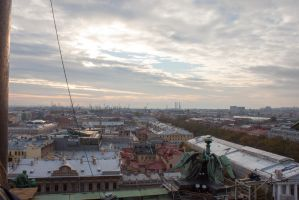 Cityscape Roofs 27 by ManicHysteriaStock
