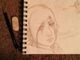 Annie Leonhart by JackieWest