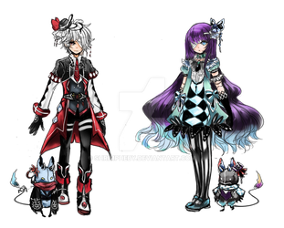 Halloween Adopt  03  (CYP adopt) Closed by shrimpHEBY