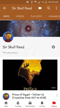 A Thousand Subscribers  by SirSkullReed