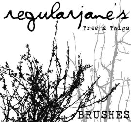 Brush Pack Tree and Twigs by regularjane