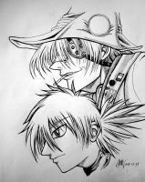 Hellsing - Seras and Pip by hyper-beam