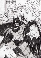 Batman VS The Chickens from ''Ocarina Of Time'' by AltaicTiger