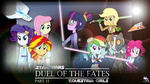 Duel of the Fates : Part 2 (MLP:EqG x Star Wars) by Amante56