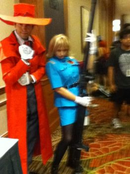 Me with Seras by Snake-n-DA-boX