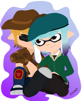Splatoon - Wivan and Wamy by DJUMD