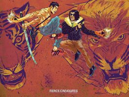 Fierce Creatures Air Fight by mmacklin