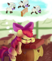 ATG Day 28 - Sheeping by thediscorded