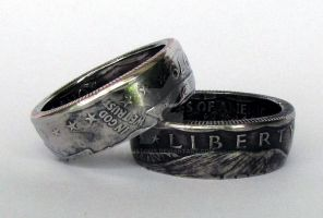 Susan B. Anthony Coin Ring by TCSCustoms