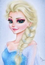 Frozen: Elsa by Mari945