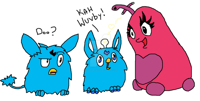 Furby connection by Lordofdragonss