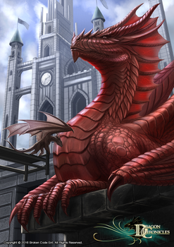 Dragon Chronicles - King of the Dragons by RobertCrescenzio
