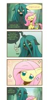 Chrysalis's fluttered adventure p4 by HowXu