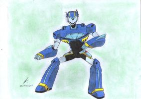 ready to fight Jetstorm Transformers Animated by ailgara