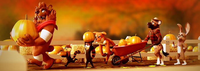 Pumpkin Time! by SmashingRenders