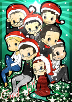 Happy GHS christmas! by Joki-Art