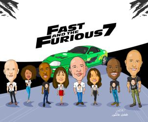 Fast 7 by superhilalo
