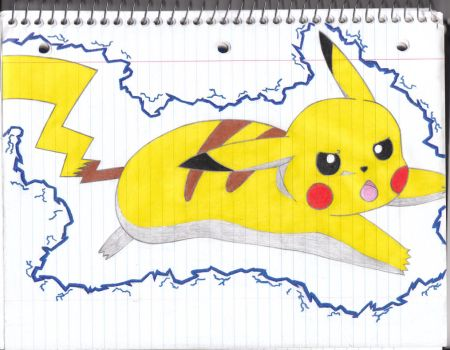 Pikachu's Attack Electrified by coolsolid