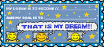 THAT IS MY DREAM Stamp by KambalPinoy
