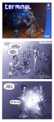 REALITIES - COVER, PAGES 1-2 by rushv
