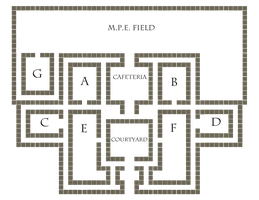 Monster Academy First floor by Rawrs-Bad-Ideas