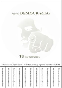 democracia carmel by SquatU2