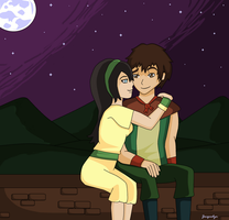 Toph and The Duke by Jackie-lyn