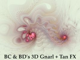 BC and BDs 3D Gnarl+Tan by Fractal-Resources