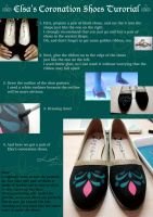 Elsa's Coronation Shoes Tutorial by pisces219320