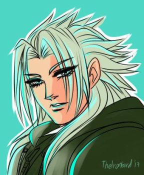 Palette warm-up Ft. Xemnas (I) by lerato