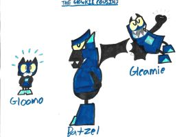 The Glowkie Cousins (In Action) by AngryBirdsandMixels1