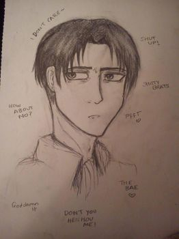 Levi by AnimeBomb