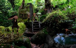 Gnome Forest by Beckdg