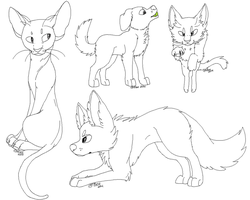 (F2U) Cats N Dogs by EMlLEE