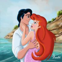 ERIC AND ARIEL by FERNL