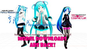 ALL MY MODEL EDITS -NEW DOWNLOADS by Techycutie