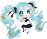FREE Bottle Miku Pagedoll by rimuu