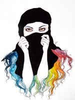 Niqab by SuperImki