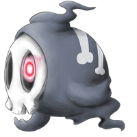 Duskull by Crystalitar