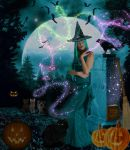 Mystical Witch ( There is magic in the air ) by WyckedAngel