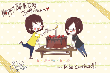 HBD Jenny chan by witchpowerlove