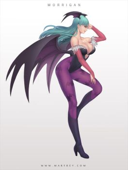 Morrigan by Marfrey