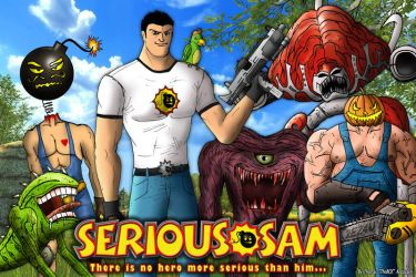 Serious Sam and Friends by ThoRCX
