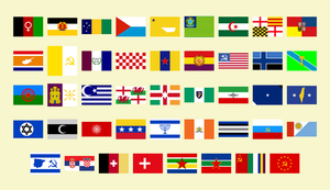 My best flags up to date (44) by matritum
