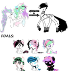 CC Foals for LunarLine - CLOSED by SavannaEGoth