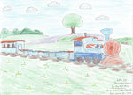 Dino World Express by WillM3luvTrains