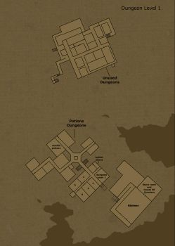 Dungeon Level 1 by Hogwarts-Castle