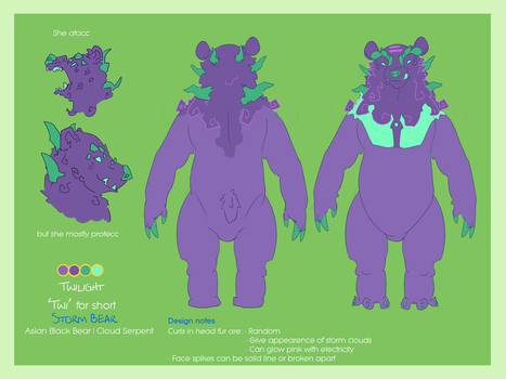 Twilight Reference sheet 2018 by twilight-dweller