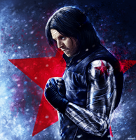 Captain America: Civil War - Bucky Barnes by p1xer
