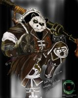 Pandaren Brewmaster by whins23